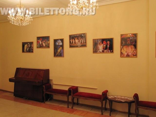 театр Рубена Симонова внутри