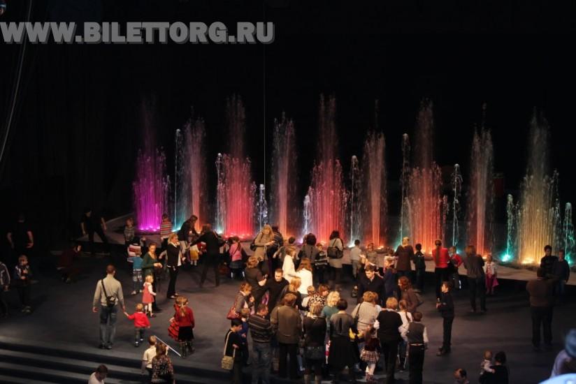 Цирк танцующих фонтанов Аквамарин. Схемы залов