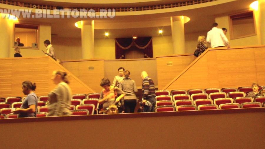 театр золотое кольцо схема зала