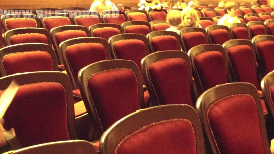 Зрительный зал театра Золотое