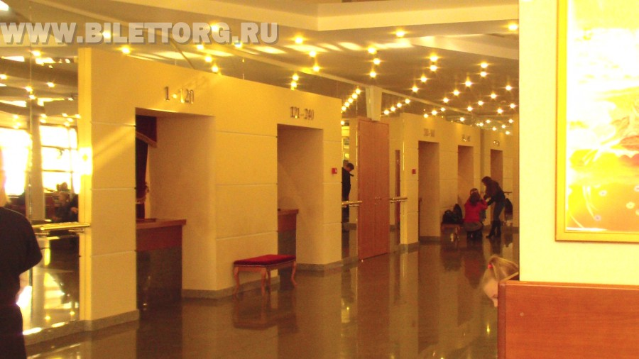 Театр золотое кольцо  зала