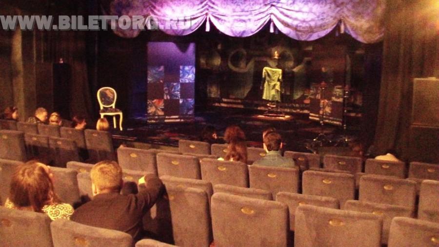 Зрительный зал театра музыки и