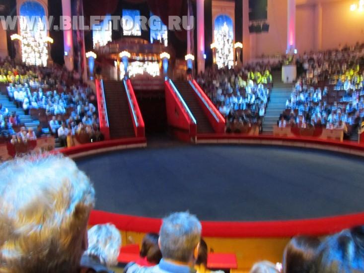Зрительный зал цирка на