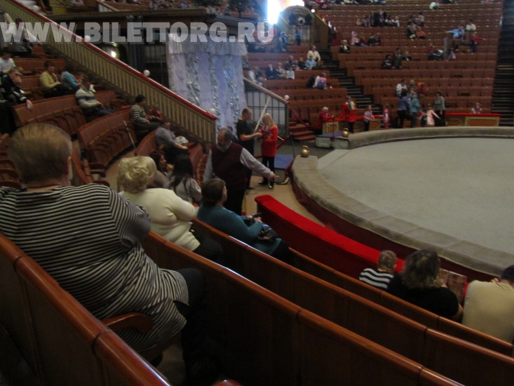 схема зала цирк цветной бульвар.