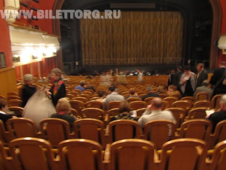 Зрительный зал Новой Оперы