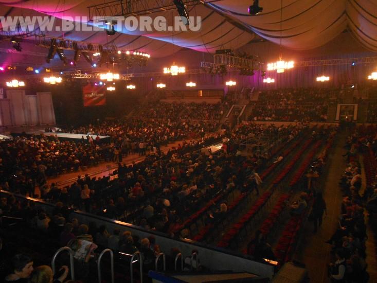 Зал Дворца спорта Лужники