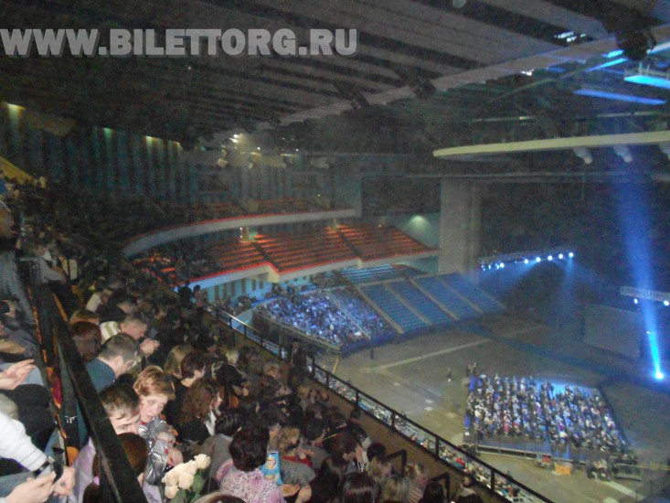 зрительный зал олимпийском