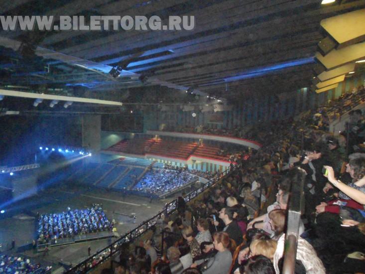 Зрительный зал СК Олимпийский.