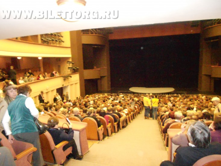 Театр моссовета схема зала