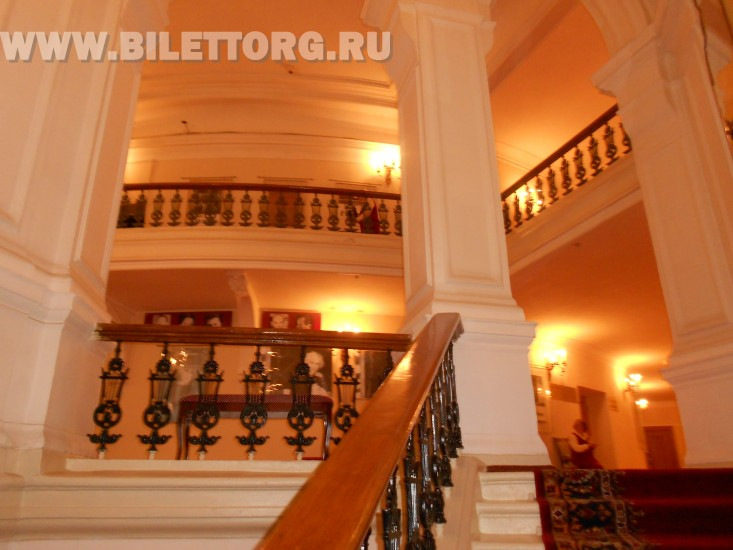 Театр им. Маяковского внутри