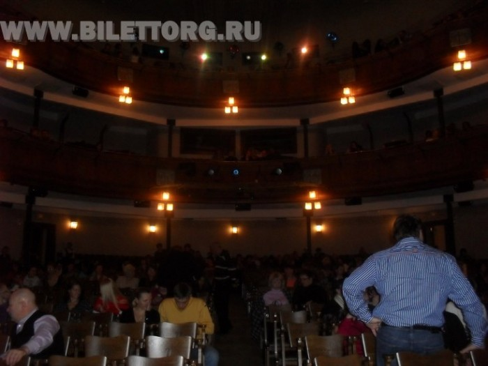 Зрительный зал МХТ им. Чехова