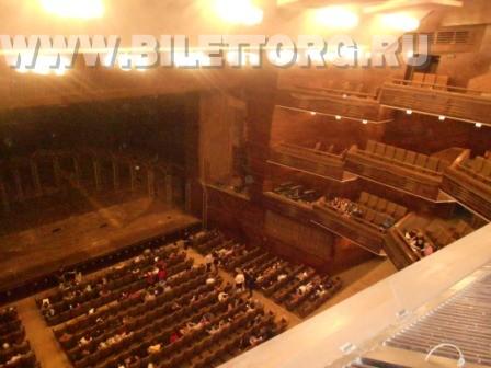 Обзор зала с балкона 2-го