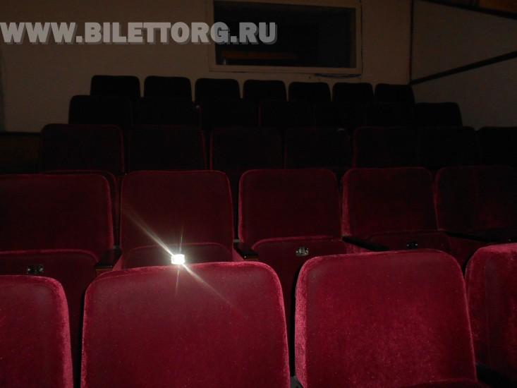 Зрительный зал Театра им. Ермоловой - фото 5 (бельэтаж) .