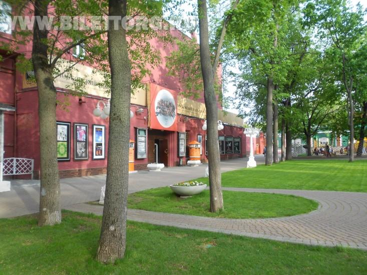У Театра Сфера весной - фото 2