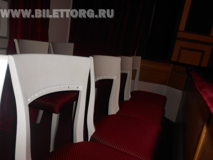 Зрительный зал Филиала Малого Театра - фото 14 (в ложе бенуара) .