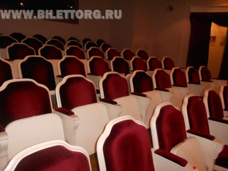 Зрительный зал Филиала Малого Театра - фото 19 (амфитеатр) .