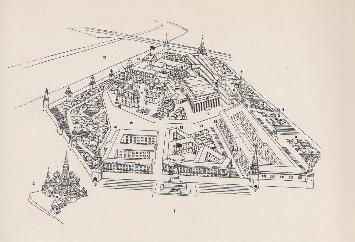 Соборная площадь кремля схема фото 951