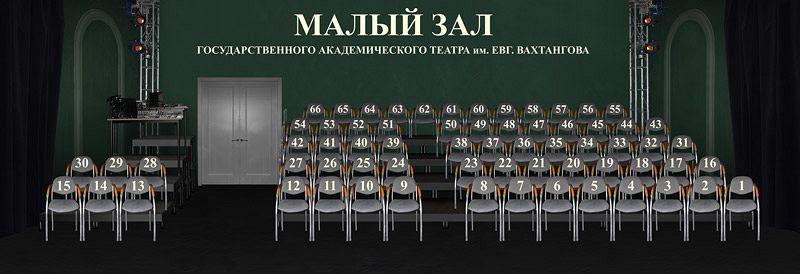 малая сцена театра Вахтангова