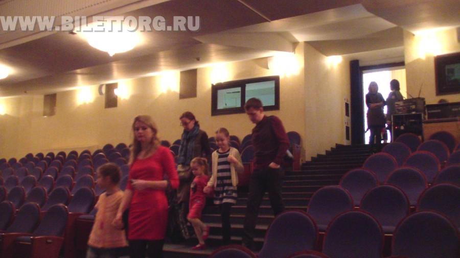 губернский театр схема залов