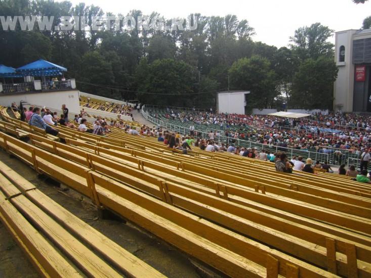 зеленый театр в парке горького фото зала хочется