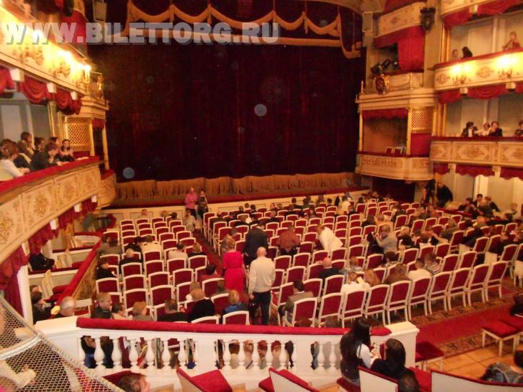 Схема и фото зала малого театра