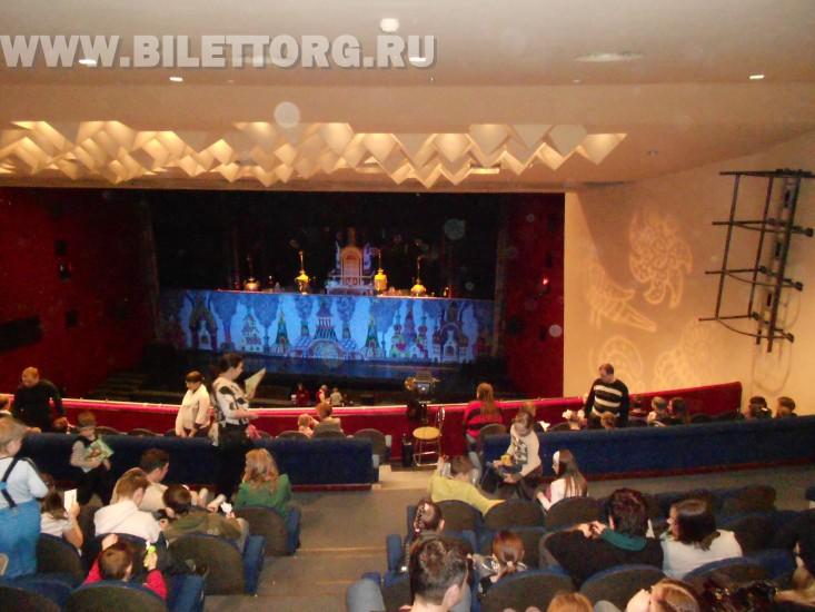 Схема зала театр на серпуховке