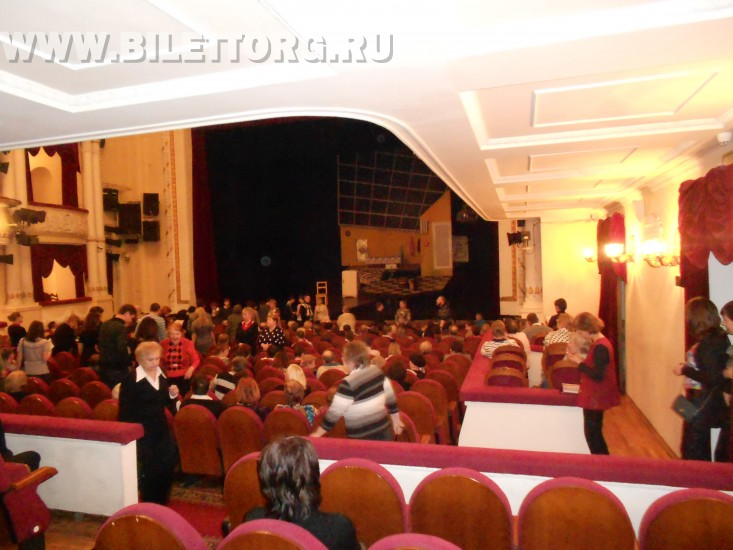 театр имени пушкина фото зала