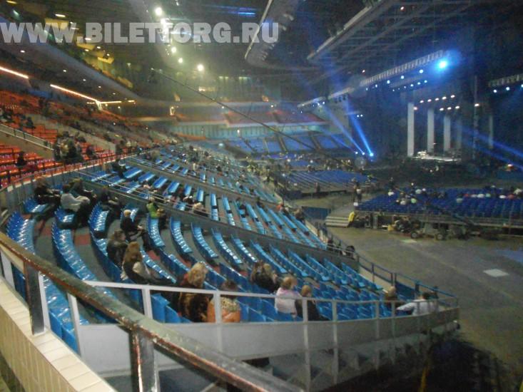 Трибуна олимпийский схема зала